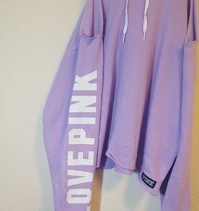 PINK Victoria's Secret Tops - NWT VS PINK L Cold Shoulder Pullover